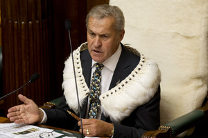 Speaker of the House David Carter has prompted a review of Parliament's kawa. Photo / Mark Mitchell