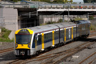 Electric trains are due to come into service in April. Photo / NZ Herald