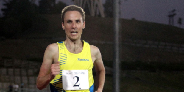 Nick Willis cruised to victory in last night's Capital Classic in Wellington / Stuart Munro