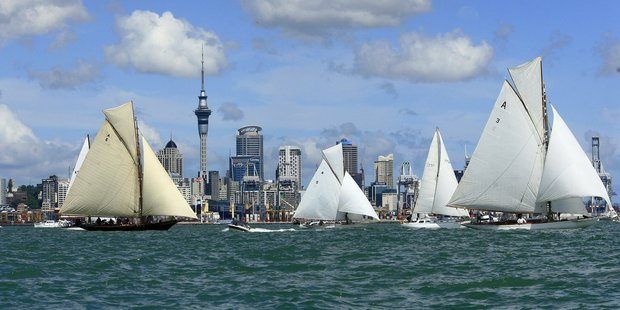 Hundreds of boats will be on show during this year's Auckland Anniversary Day Regatta on the Waitemata Harbour. Photo / Martin Sykes