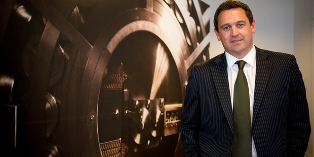 Chief executive Craig Richardson. Photo / Greg Bowker