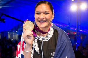One of Adams' goals is to inspire young people in NZ. Photo / NZ Herald