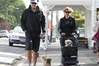 I bumped into Greytown couple, Brian and Alicia Roberts, using a dog pram to ferry their elderly, blind, deaf dog Keko as part of their morning ritual with their other younger dog.