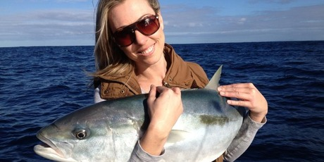 Nicky Sinden fell in love with fishing when she was a child.