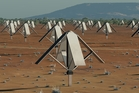 A square kilometre Array telescope will boast image resolution quality 50 times that of the hubble. Photo / SKA