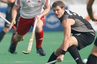 Steve Edwards scored both New Zealand goals. Photo / Brett Phibbs