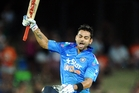 Virat Kohli's century wasn't enough for India to change history in Napier. Photo/Paul Taylor