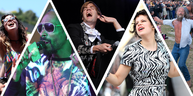 Highlights from the 2014 Big Day Out. Photo / Getty Images, NZH