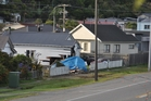There was significant damage to the house, however no one was home at the time. Photo / Greymouth Star