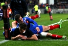 Ben Smith and his fellow All Blacks frequently got the better of their French counterparts last year. Photo / Getty Images