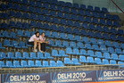 An empty stand at the Cycling Velodrome during the Delhi 2010 Commonwealth Games.Photo / Brett Phibbs