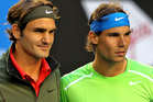 Roger Federer and Rafael Nadal played in the 2014 Australian Open final. Photo / Getty Images