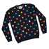 Happy Campers is a quirky collaboration between Swedish brands WeSC and Happy Socks. We love the spotted jumper, $179.90, available from BlakChaos in Mt Maunganui and Slick Willys in Dunedin