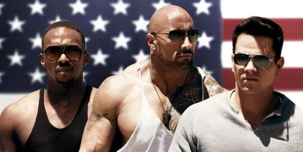 In Pain & Gain Dwayne Johnson plays a bodybuilder turned bad boy.
