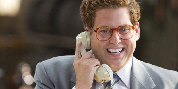 Jonah Hill as Donnie Azoff in 'Wolf of Wall Street'.