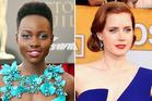 Lupita Nyong'o, Amy Adams and Julia Roberts at the Screen Actors Guild Awards. Photos / AP