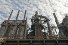 Old steel factories are a feature of the Sands Casino Resort and surrounding area. Photo / Thinkstock