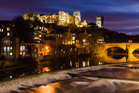Durham's skyline is dominated by its medieval castle and cathedral, which both sit high above the River Wear. Photo / 123RF