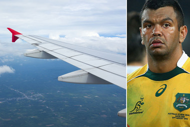 Kurtley Beale is facing disciplinary action after an 'incident' on a flight to South America. Photo / Getty Images