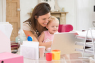 Stay-at-home mums may have put their careers on hold to focus on their children. This is a big sacrifice that is so often overlooked. Photo / Thinkstock