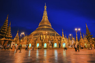 The Shwedagon Pagoda - site of two dramatic events in Myanmar's independence struggles. Photo / Getty Images