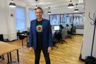 Craig Walker in Xero's New York office.