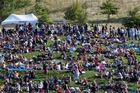 Crowds flock to a previous Mission Estate Winery Concert, which features well-known entertainers.
