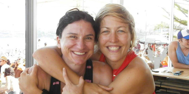 Lisa Walton, left, and Lizi Hamer. They set off for the Annapurna Range this week but have not been heard from for days. Photo / Facebook
