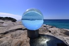 Lucy Humphrey's Horizon at Sculpture by the Sea, Bondi. Photo / Clyde Yee