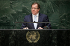 Murray McCully in New York for the final days of campaigning for a Security Council seat. Photo / AP
