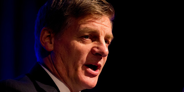 Finance Minister Bill English is the principal proponent of the radical 'social housing' reform. Photo / Jason Oxenham