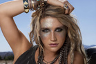 Pop singer Kesha.