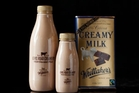 Lewis Road Creamery fresh chocolate milk made with Whittaker's chocolate.