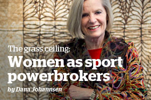 The grass ceiling: Women under-represented as sport powerbrokers