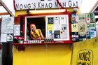 Nong's Khao Mon Gai is one of Portland's most famous food carts. Photo / Supplied