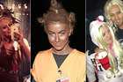 Aubrey O'Day, Julianne Hough and Deryck Whibley have all worn inappropriate Halloween costumes. Photos / Instagram, Twitter