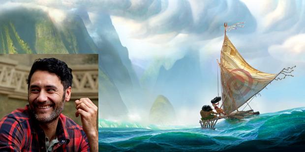 Kiwi filmmaker Taika Waititi penned the original script for the new Disney feature, Moana.