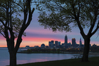 The city of Cleveland at dawn. Photo / Thinkstock