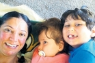 Jessika Guest with daughter Jade, 7, and son Ethan, 8. Photo / Supplied