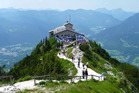Bavaria's Kehlsteinhaus - popularly known as the Eagle's Nest - which was once a social hub for Nazi Germany's leaders. Photo / Creative Commons image by Wikimedia user Ondrej Žvácek