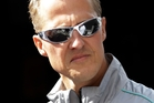 Michael Schumacher. Photo / AP