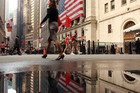 The New York Stock Exchange on Wall St. Photo / AP