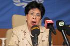 Director General of the World Health Organisation Margaret Chan. Photo / AP