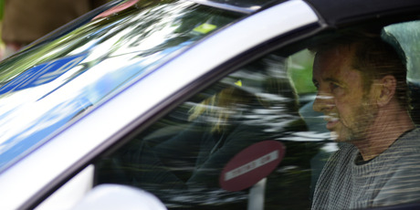 Phil Rudd leaving Tauranga Court. Photo/George Novak.