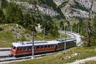 An alpine train in Zermatt, Switzerland. Photo / Thinkstock