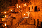 The Yunak Evleri hotel in Cappadocia contains cave houses and rooms dating back to the 5th century. Photo / Getty Images