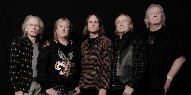 Progressive rock band Yes perform at the Aotea Centre tonight.