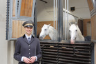 Ulla Reimers at the Spanish Riding School in Vienna. Photo / Susan Buckland