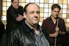 James Gandolfini and the cast of The Sopranos.