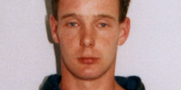Loading A police photo of Phillip Smith soon after his arrest in 1995. Photo / Supplied